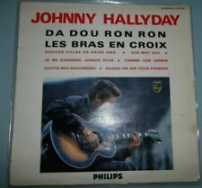 "JOHNNY HALLYDAY N°5/DA DOU RON RON/25CM/10""/RARE PHILIPS/FRENCH LP"