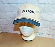 Fluor USA Company Hat Ball Cap Construction Tan