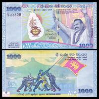 Sri Lanka 1000 1,000 Rupees, 2009, P-122, Commemorative, UNC