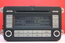 VW VOLKSWAGEN RCD 300 MP3 CD RADIO PLAYER & CODE GOLF PASSAT CADDY JETTA TOURAN