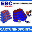 EBC PASTILLAS FRENO delant. + eje trasero BlueStuff para Nissan 350Z Z33