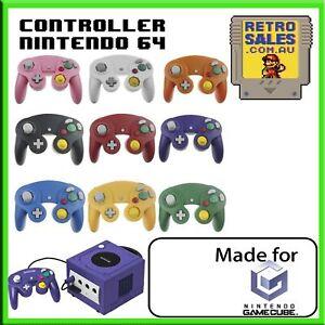 Premium Dual Shock Gamecube Controller Gamepad for Nintendo Wii GC NGC