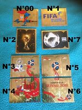 N°00 sticker vignette coupe du monde world cup 2018 russia panini foot