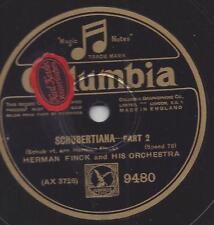 Herman Finck Orchestra spielt salonmusik  : Schuberttiana Part 1+2