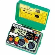 New Multifunction Tester Continuity/Insulation/Loop/PSC/RCD Meter Kyoritsu 6011A