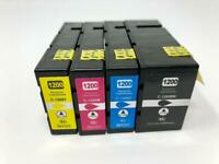 4 PGI-1200XL Ink Cartridges for Canon Maxify MB2020 MB2120 MB2320 MB2720 Printer