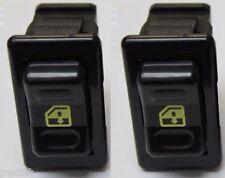 1992 Camaro Window Switch (2) NEW Pair SET (2) GM # 10098781 Yellow Graphics