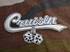 ECUSSON PATCH THERMOCOLLANT toppa aufnaher CRUISIN hot rod muscle car mustang