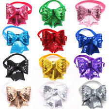 Cute Christmas Pet Puppy Cat Dog Bow Ties Adjustable Bowties Collar Pet Supply