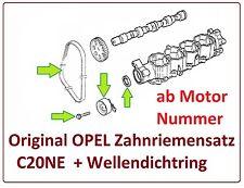 OPEL KADETT E Cabrio  2.0 115PS  Zahnriemensatz original OPEL +Wellendichtring