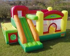 Bounceland Adventure Park 9-in-1 15ft Inflatable Bouncy Castle with Airflow Fan