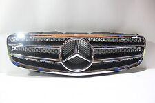 Mercedes Benz SL R230 SL500 SL600 AMG-Style 03-06 Front Grille Chrome & Black