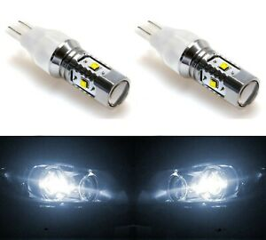 LED Light 30W 921 White 5000K Two Bulbs Back Up Reverse Replacement Lamp OE Fit