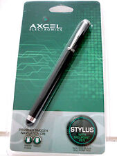 AXCEL Electronics Stylus With Ball Point Pen For Tablets & SmartPhones NIP