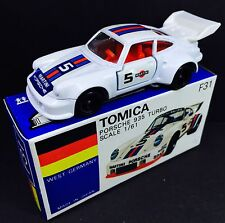 MADE IN JAPAN TOMY TOMICA GERMANY F31 PORSCHE 935 TURBO 1/61 DIECAST TOY CAR