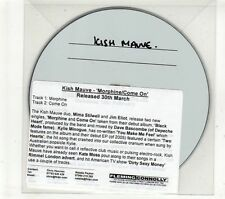 (GT791) Kish Mauve, Morphine / Come On - DJ CD