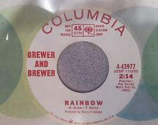 Brewer And Brewer – Need You / Rainbow ~ Very Rare 1966 Psychedelic Rock (M-)