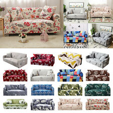 1 2 3 4Seater Stretch Chair Sofa Covers Protector Loveseat Couch Cover Slipcover