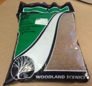 Woodland Scenics # B86  Course Brown Ballast