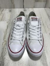 CONVERSE All Star White Canvas Mens 8.5 Athletic Sneaker Shoe