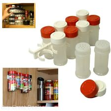 Kitchen RV Spice Gripper Clip Strip 20 Jar Rack Storage Holder Wall Cabinet Door