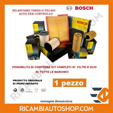 FILTRO OLIO BOSCH NISSAN GT-R 3.8 V6 KW:353 2008> 0986452041