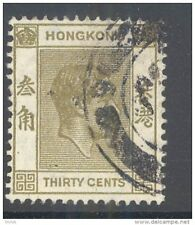 HONG KONG, 1938 30c (P14½x14) fine used, cat £10 (D)