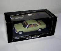 Mercedes-Benz W 123 Coupe 230 CE green / kaledoniengrün - Minichamps 1:43!