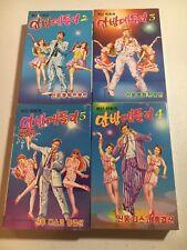 Korean Cassette Tape Lot Of 4 With Slipcovers
