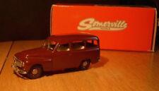 wonderful handcrafted modelcar VOLVO DUETT P210 1965 - maroonred -1/43