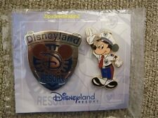 Disney pin Set DLR Cast Exclusive Security Badge &(Police) Officer Mickey Mouse