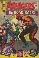 Avengers #22 ORIGINAL Vintage 1965 Marvel Comics Captain America Power Man