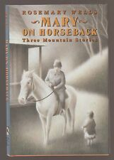 VG AUTOGRAPHED HC dj First Edition Mary on Horseback Rosemary Wells P McCarty