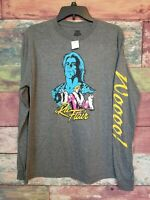 NEW Ric Flair WWE Long Sleeve T-shirt Ripple Junction Men's Medium New With Tags