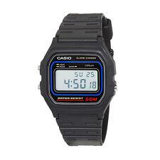 Reloj Casio Original Retro W-59-1V Digital Negro Unisex Nuevo