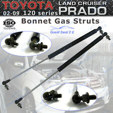 2 Bonnet Gas Struts for Toyota Landcruiser Prado120 Series 2002-09 Front Damper