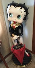 Life Size Iconic Betty Boop Umbrella Holder Statue For Sale At The Right Price