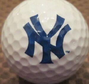 1 Dozen Nike Assorted Mint (New York Yankees Logo) Golf Balls