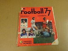 PANINI ALBUM FOOTBALL 77 / NOT COMPLETE