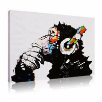 """30""""x20"""" Canvas Wall Art Painting Print Picture Home Decor DJ MONKEY Unframed"""