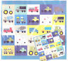 Mighty Machines - fun applique & pieced quilt PATTERN - Dreamy Quilts