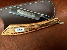 Handmade Shave Ready Straight Razor-Cut Throat-Leather Sheath-BGR16