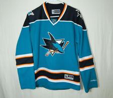 San Jose Sharks NHL Hockey Jersey Reebok Size WOMENS LARGE L