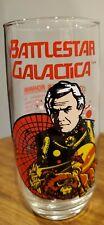 New listing Battlestar Galactica Commander Adama 1979 Universal Studios Collector Glass Mint