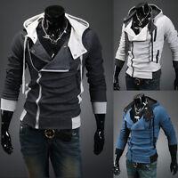 Neu Herren Pulli Slim Kapuzenpullover Hoodie Pullover Jacke T-Shirt Sweatshirt