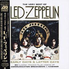 Led Zeppelin - Early Days & Latter Days (CD, Dec-2003, Wea) JAPAN NEW