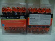 NEW HALLOWEEN PUMPKIN LED LIGHT20 PER BOX 2 BOXES SFREE SHIPPING