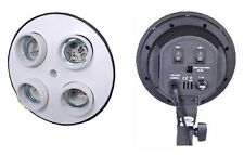 Photography Photo Studio 4 Head Ac Lamp Light Socket