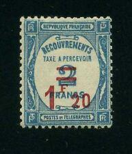 """FRANCE TAXE 64 """"1F20 S.2F BLEU"""" NEUFxxTTB, VALEUR:130€"""