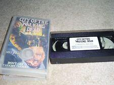 City of the Walking Dead [VHS] by Hugo Stiglitz, Laura Trotter, Maria Rosaria